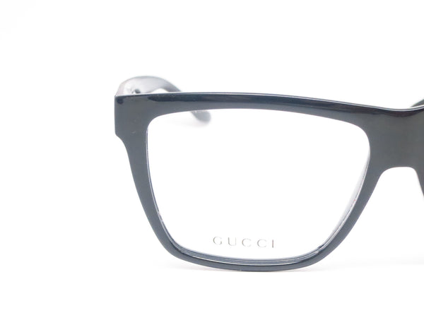 Gucci GG 1008 GG1008/S Black and Grey 52R Eyeglasses - Eye Heart Shades - Gucci - Eyeglasses - 4