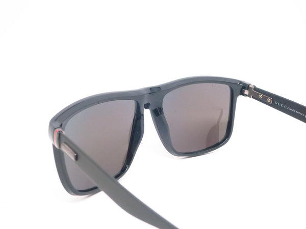 Gucci GG 1075 GG1075/S Shiny Matte Black GVBMI Sunglasses - Eye Heart Shades - Gucci - Sunglasses - 6