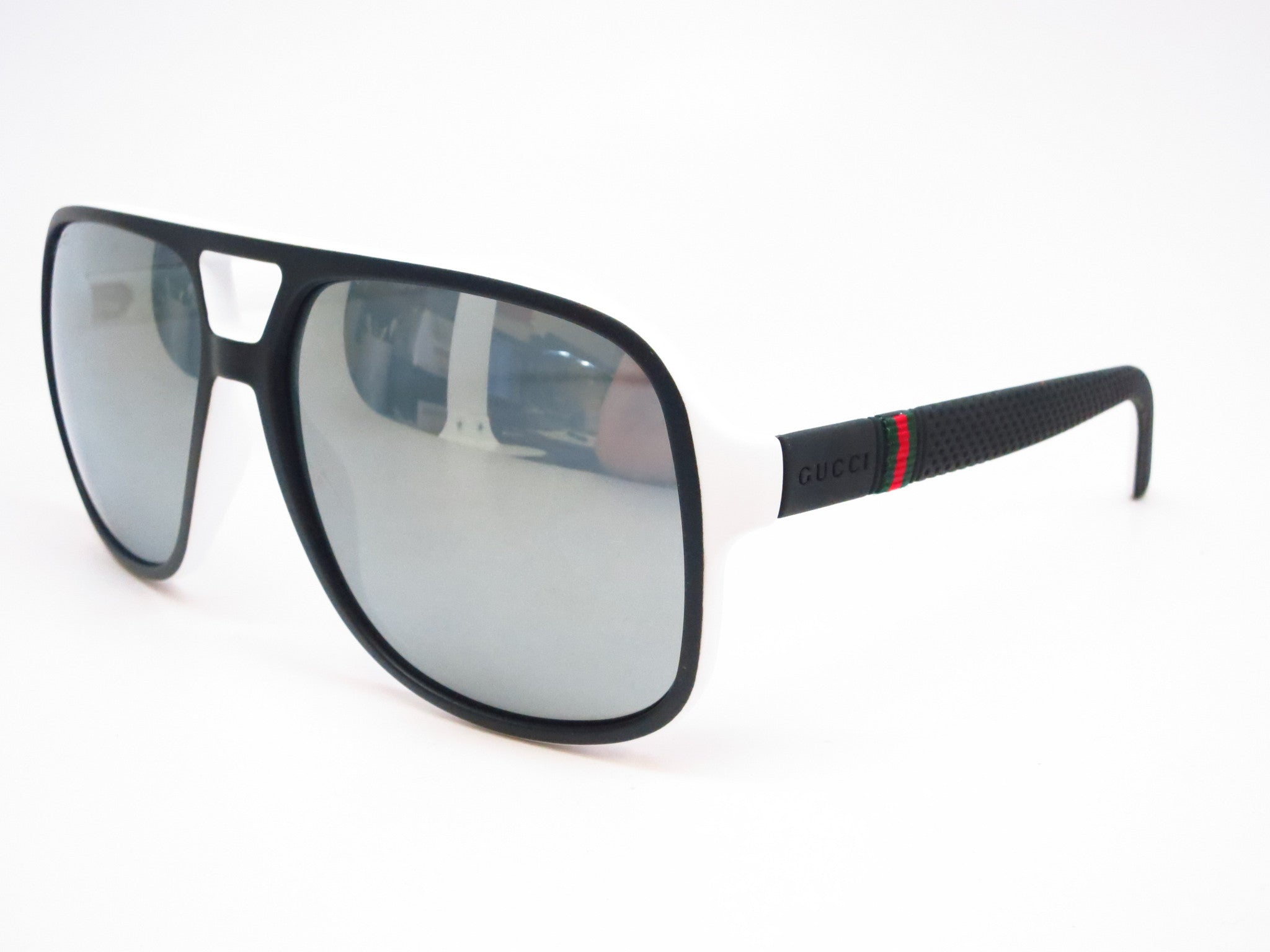 296b36c47c Gucci GG 1115 M1X T4 Black White Sunglasses - Eye Heart Shades - Gucci -