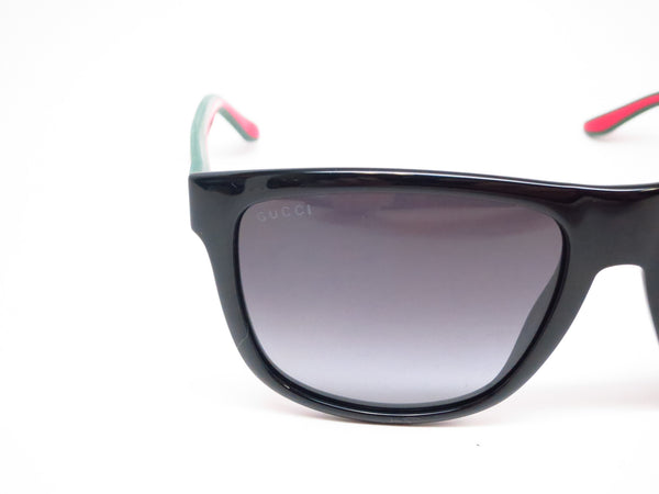 Gucci GG 1118 51N/90 Black Green Red Sunglasses - Eye Heart Shades - Gucci - Sunglasses - 4