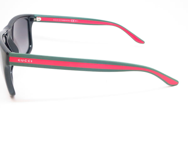 Gucci GG 1118 51N/90 Black Green Red Sunglasses - Eye Heart Shades - Gucci - Sunglasses - 5