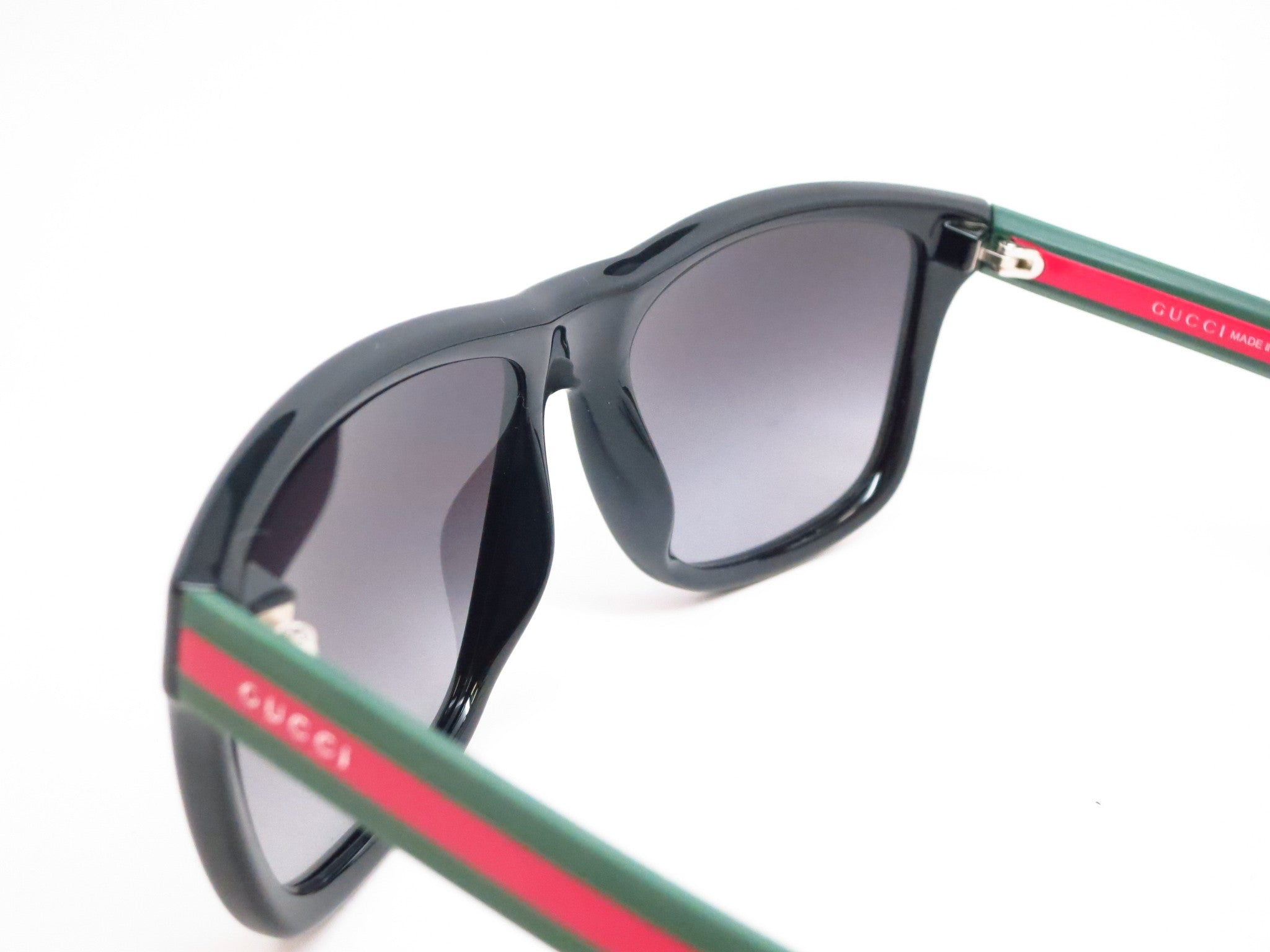 3ba404dc1340e ... Gucci GG 1118 51N 90 Black Green Red Sunglasses - Eye Heart Shades -  Gucci ...
