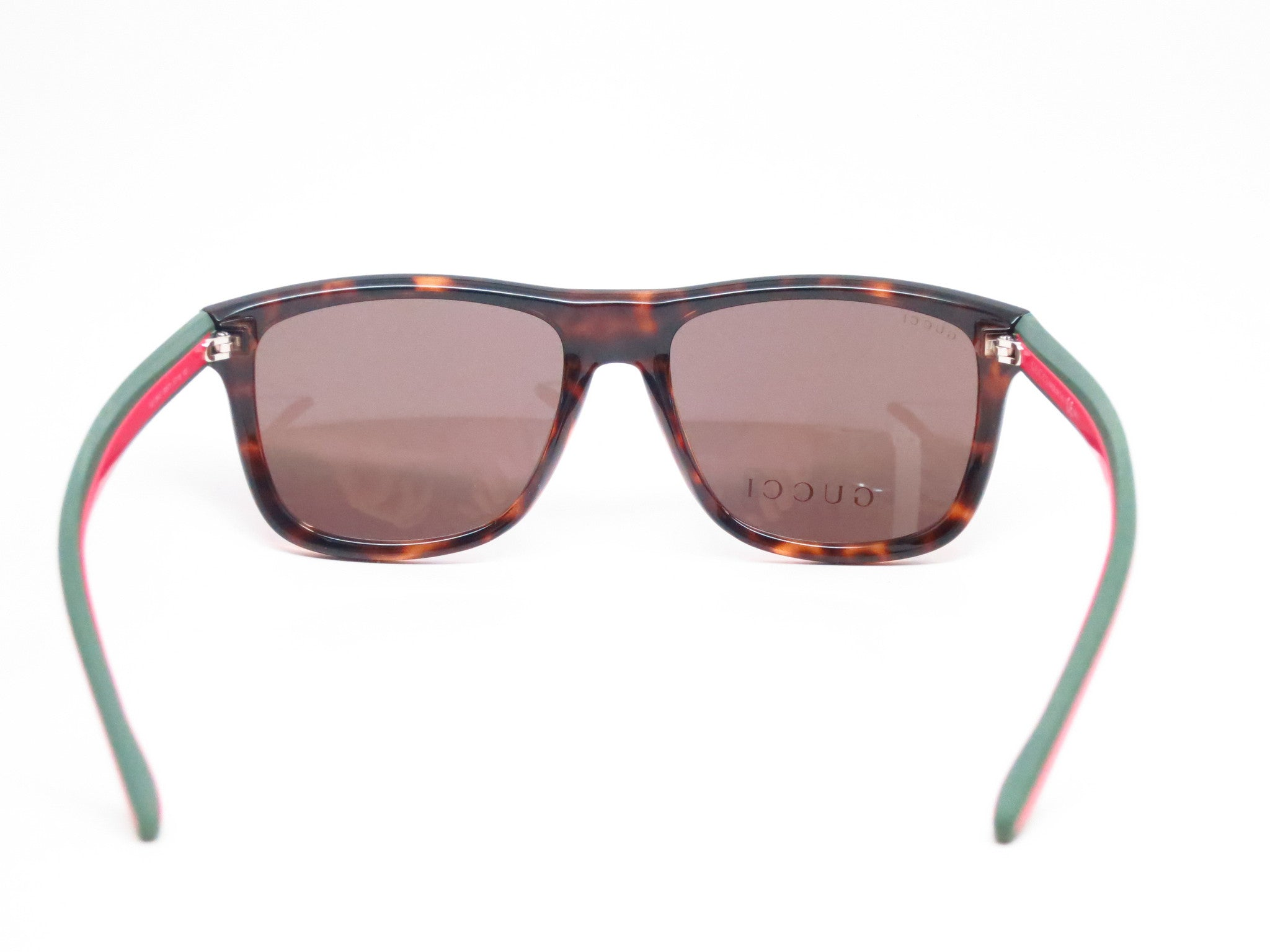 54f33f2b9eee7 ... Gucci GG 1118 M15 70 Havana Green Red Sunglasses - Eye Heart Shades -  Gucci ...