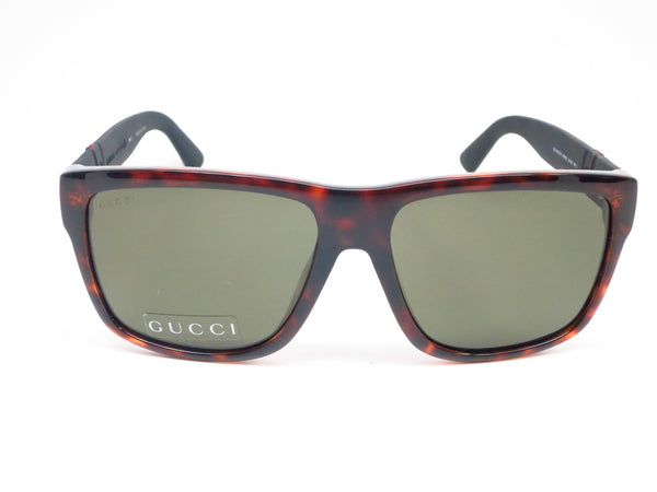 Gucci GG 1124/F/S M1W/1E Havana Black Sunglasses - Eye Heart Shades - Gucci - Sunglasses - 2