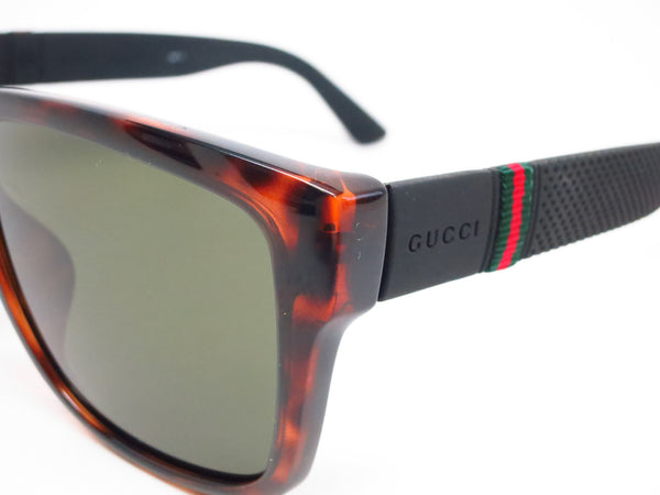 Gucci GG 1124/F/S M1W/1E Havana Black Sunglasses - Eye Heart Shades - Gucci - Sunglasses - 3