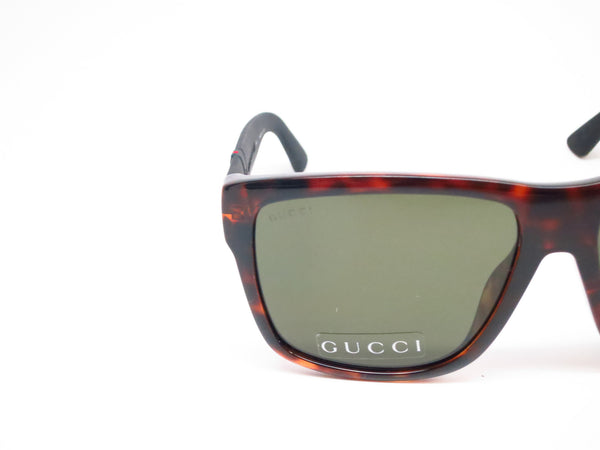Gucci GG 1124/F/S M1W/1E Havana Black Sunglasses - Eye Heart Shades - Gucci - Sunglasses - 4
