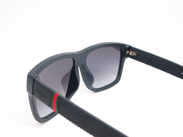 Gucci GG 1124/F/S MY4/90 Matte Black Sunglasses - Eye Heart Shades - Gucci - Sunglasses - 6