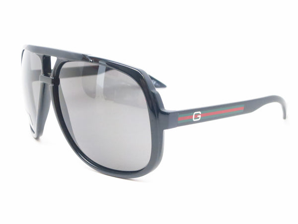 Gucci GG 1622 GG1622/S Black D28R6 Sunglasses - Eye Heart Shades - Gucci - Sunglasses - 1