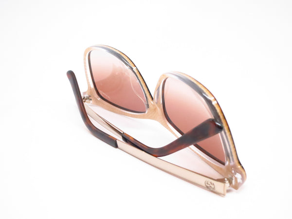 Gucci GG 3675/S 4WJ/YY Havana Light Gold Sunglasses - Eye Heart Shades - Gucci - Sunglasses - 8