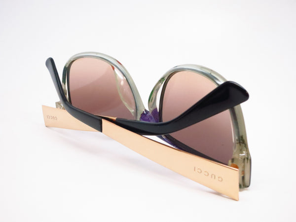 Gucci GG 3802 NIE/ED Black Gold Sunglasses - Eye Heart Shades - Gucci - Sunglasses - 8