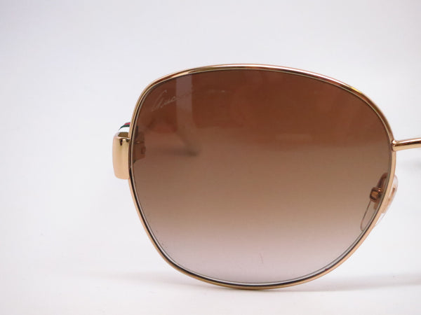Gucci GG 4242 GG4242S Gold/White 24S6Y Sunglasses - Eye Heart Shades - Gucci - Sunglasses - 4