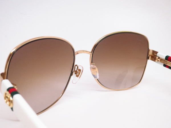 Gucci GG 4242 GG4242S Gold/White 24S6Y Sunglasses - Eye Heart Shades - Gucci - Sunglasses - 6