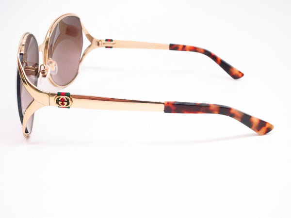 Gucci GG 4280 J5G/J6 Gold Sunglasses - Eye Heart Shades - Gucci - Sunglasses - 5