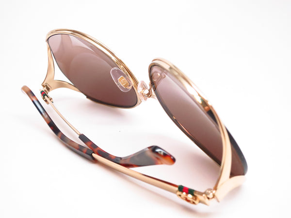 Gucci GG 4280 J5G/J6 Gold Sunglasses - Eye Heart Shades - Gucci - Sunglasses - 8