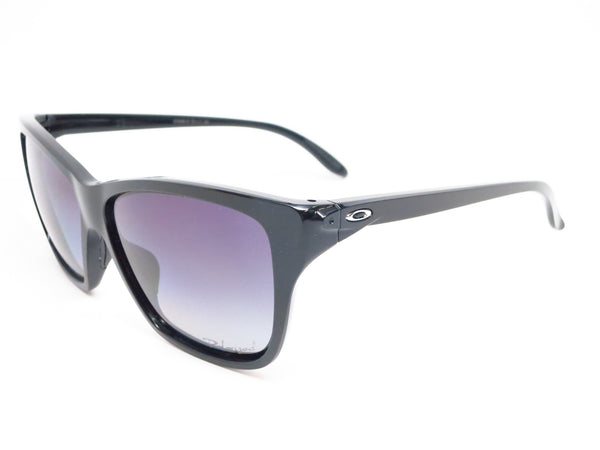 Oakley Hold On OO9298-06 Polished Black Polarized Sunglasses - Eye Heart Shades - Oakley - Sunglasses - 1