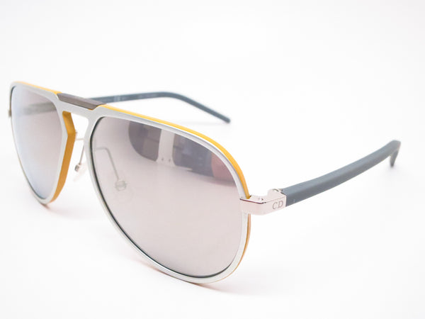 Dior Homme AL 132/S NLWM3 Palladium Yellow Grey Sunglasses - Eye Heart Shades - Dior - Sunglasses - 1