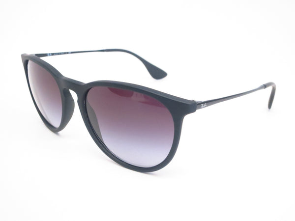 Ray-Ban RB 4171 Erika 622/8G Matte Black Rubber Sunglasses - Eye Heart Shades - Ray-Ban - Sunglasses - 1