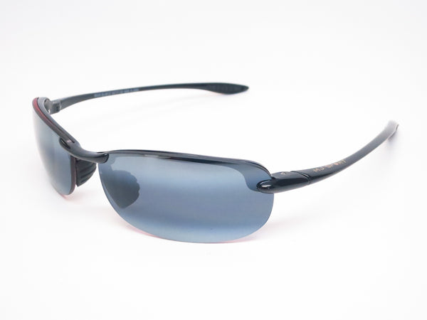 Maui Jim Makaha MJ 405-02 Gloss Black Polarized Sunglasses - Eye Heart Shades - Maui Jim - Sunglasses - 1
