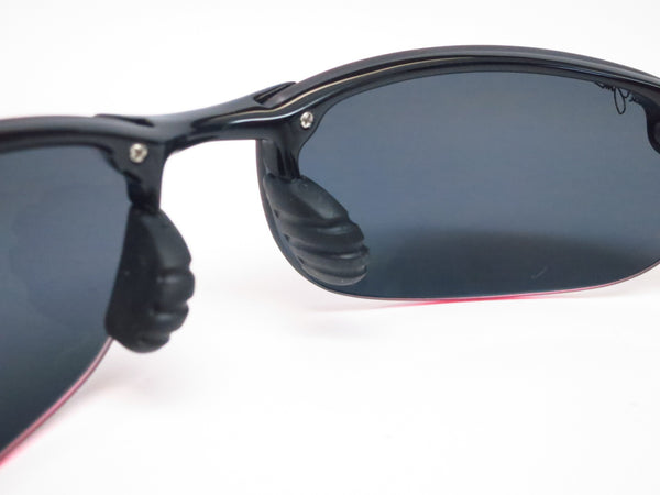 Maui Jim Makaha MJ 405-02 Gloss Black Polarized Sunglasses - Eye Heart Shades - Maui Jim - Sunglasses - 3