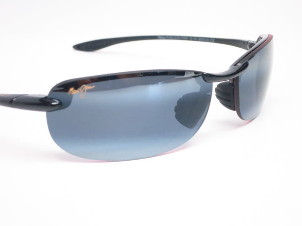 Maui Jim Makaha MJ 405-02 Gloss Black Polarized Sunglasses - Eye Heart Shades - Maui Jim - Sunglasses - 4