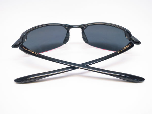 Maui Jim Makaha MJ 405-02 Gloss Black Polarized Sunglasses - Eye Heart Shades - Maui Jim - Sunglasses - 8