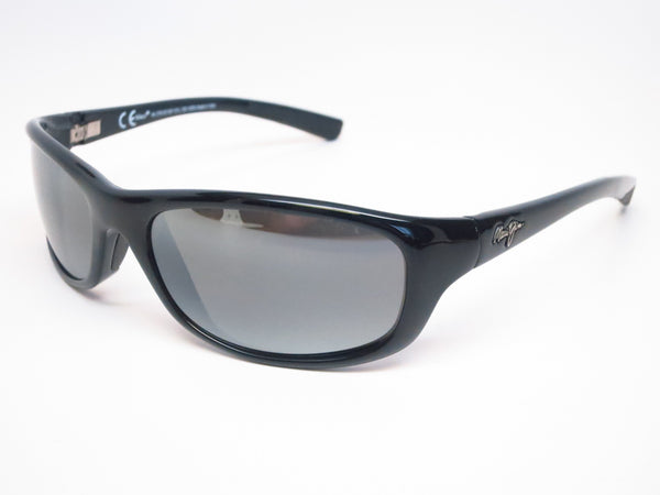 1abb6d900b Maui Jim Kipahulu MJ 279-02 Gloss Black Polarized Sunglasses - Eye Heart  Shades -