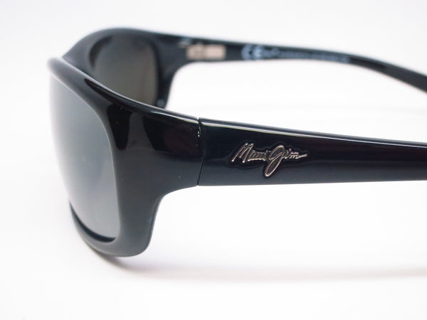 Maui Jim Kipahulu MJ 279-02 Gloss Black Polarized Sunglasses - Eye Heart Shades - Maui Jim - Sunglasses - 5