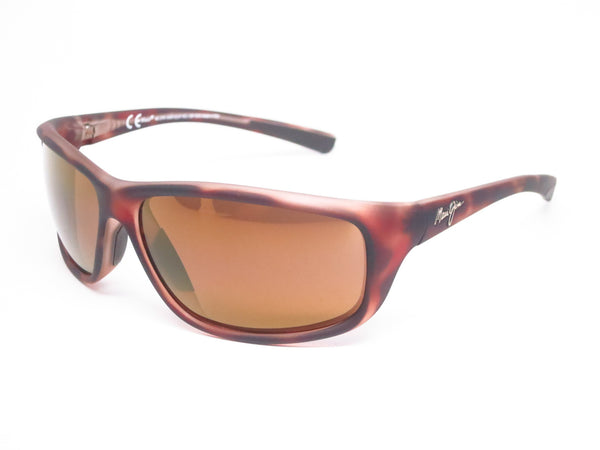 Maui Jim Spartan Reef MJ H278-10MR Matte Tortoise Rubber Polarized Sunglasses - Eye Heart Shades - Maui Jim - Sunglasses - 1