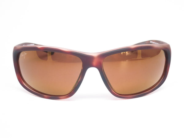 Maui Jim Spartan Reef MJ H278-10MR Matte Tortoise Rubber Polarized Sunglasses - Eye Heart Shades - Maui Jim - Sunglasses - 2