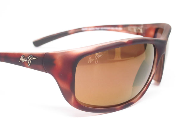 Maui Jim Spartan Reef MJ H278-10MR Matte Tortoise Rubber Polarized Sunglasses - Eye Heart Shades - Maui Jim - Sunglasses - 7