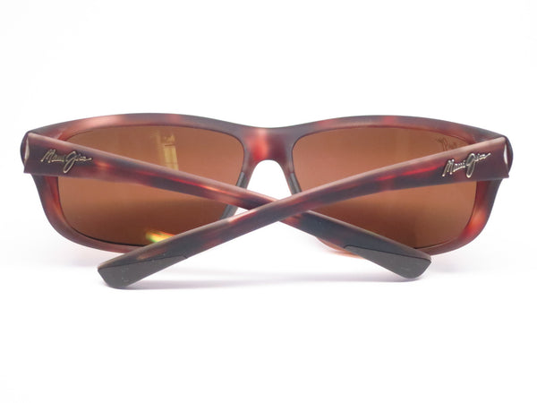 Maui Jim Spartan Reef MJ H278-10MR Matte Tortoise Rubber Polarized Sunglasses - Eye Heart Shades - Maui Jim - Sunglasses - 8