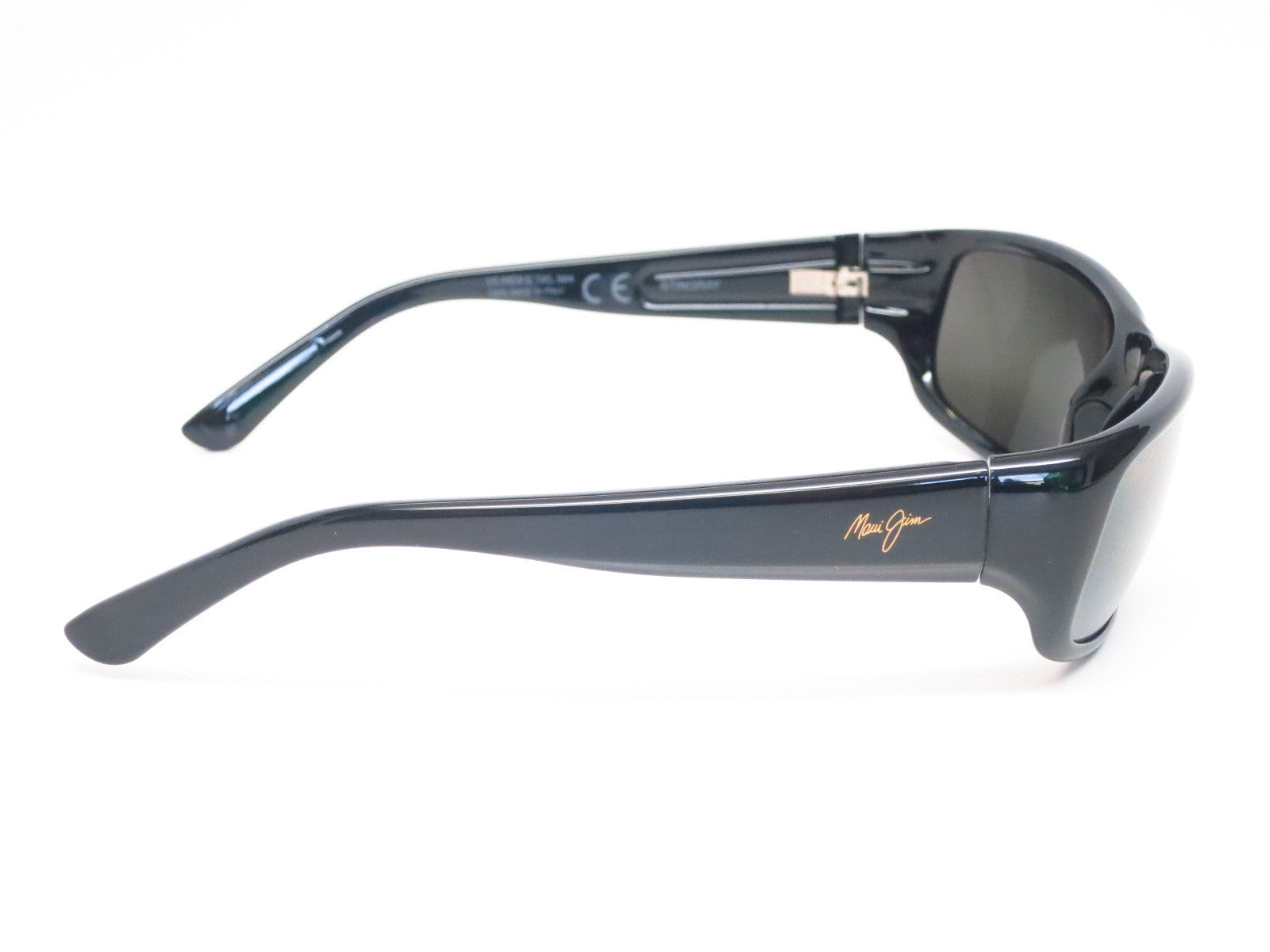 07b2db94f6 ... Maui Jim Stingray MJ 103-02 Gloss Black Polarized Sunglasses - Eye  Heart Shades ...