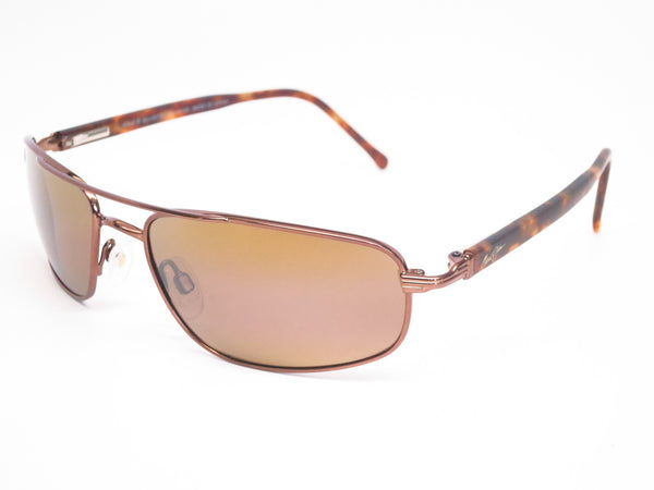 Maui Jim Kahuna MJ H162-23 Metallic Gloss Copper Polarized Sunglasses - Eye Heart Shades - Maui Jim - Sunglasses - 1