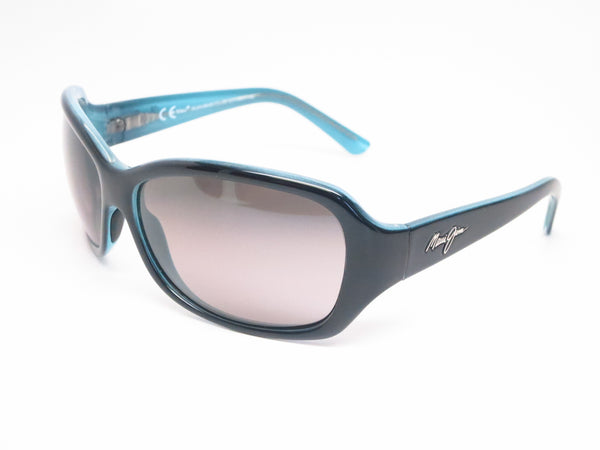 Maui Jim Pearl City MJ GS214-03A Black with Blue Polarized Sunglasses - Eye Heart Shades - Maui Jim - Sunglasses - 1