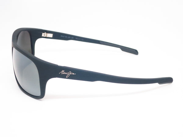 Maui Jim Island Time MJ 237-2M Black Matte Rubber Polarized Sunglasses - Eye Heart Shades - Maui Jim - Sunglasses - 5