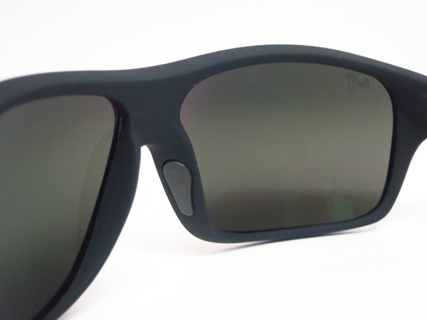 Maui Jim Island Time MJ 237-2M Black Matte Rubber Polarized Sunglasses - Eye Heart Shades - Maui Jim - Sunglasses - 6