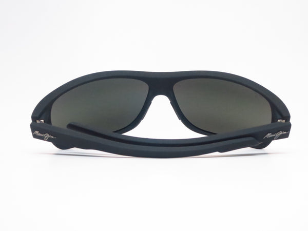 Maui Jim Island Time MJ 237-2M Black Matte Rubber Polarized Sunglasses - Eye Heart Shades - Maui Jim - Sunglasses - 11