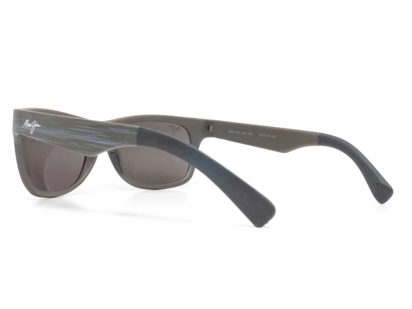 Maui Jim Kahi MJ 736-63W Matte Aquamarine Wood Grain Polarized Sunglasses - Eye Heart Shades - Maui Jim - Sunglasses - 8
