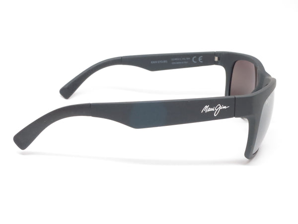 Maui Jim Kahi MJ 736-02MR Matte Black Rubber Polarized Sunglasses - Eye Heart Shades - Maui Jim - Sunglasses - 4