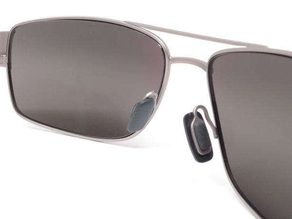 Maui Jim Ohia MJ 703-14A Satin Grey w/Blue Tips Polarized Sunglasses - Eye Heart Shades - Maui Jim - Sunglasses - 5