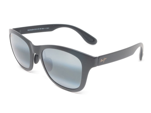 Maui Jim Hana Bay MJ 434-2M Matte Black Polarized Sunglasses - Eye Heart Shades - Maui Jim - Sunglasses - 1