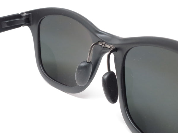 Maui Jim Hana Bay MJ 434-2M Matte Black Polarized Sunglasses - Eye Heart Shades - Maui Jim - Sunglasses - 5