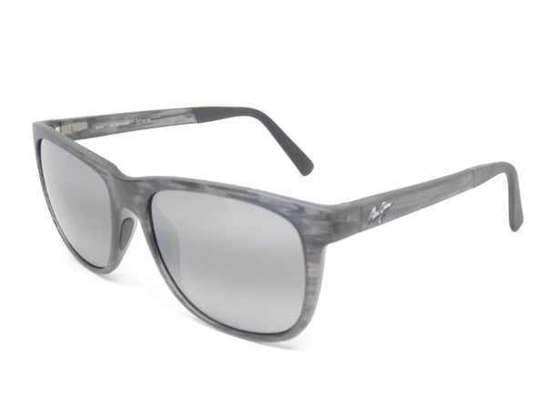 Maui Jim Tail Slide MJ 740-11MS Matte Grey Stripe Polarized Sunglasses - Eye Heart Shades - Maui Jim - Sunglasses - 1