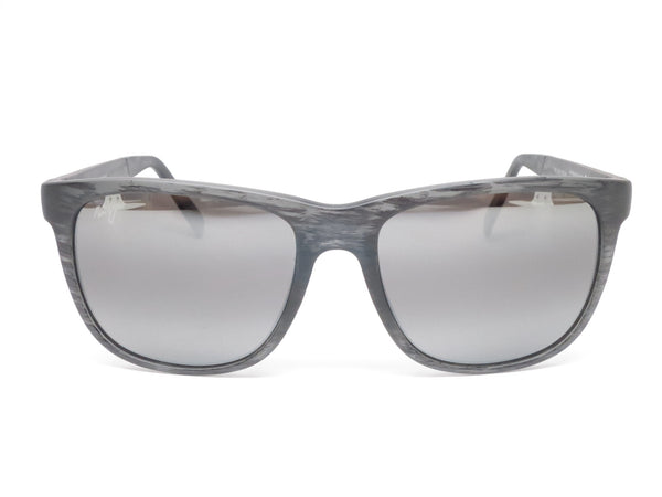 Maui Jim Tail Slide MJ 740-11MS Matte Grey Stripe Polarized Sunglasses - Eye Heart Shades - Maui Jim - Sunglasses - 2