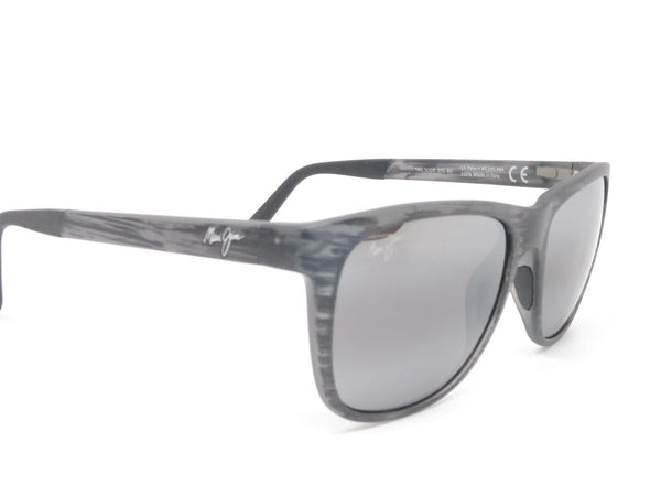 Maui Jim Tail Slide MJ 740-11MS Matte Grey Stripe Polarized Sunglasses - Eye Heart Shades - Maui Jim - Sunglasses - 3