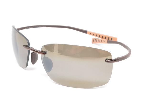 Maui Jim Kumu MJ H724-23 Metallic Gloss Copper Polarized Sunglasses - Eye Heart Shades - Maui Jim - Sunglasses - 1