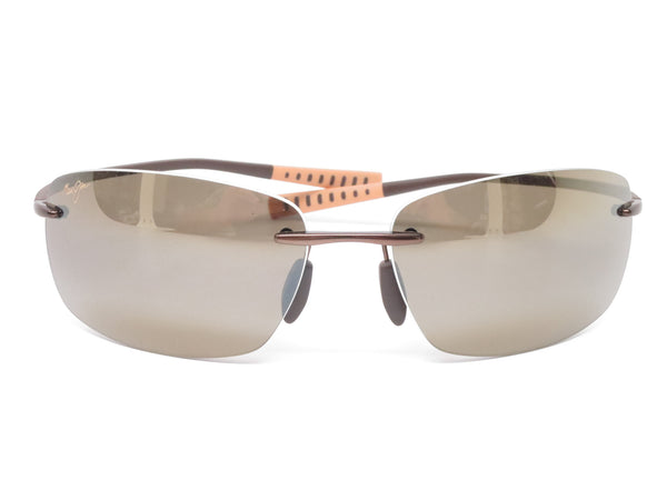 Maui Jim Kumu MJ H724-23 Metallic Gloss Copper Polarized Sunglasses - Eye Heart Shades - Maui Jim - Sunglasses - 2