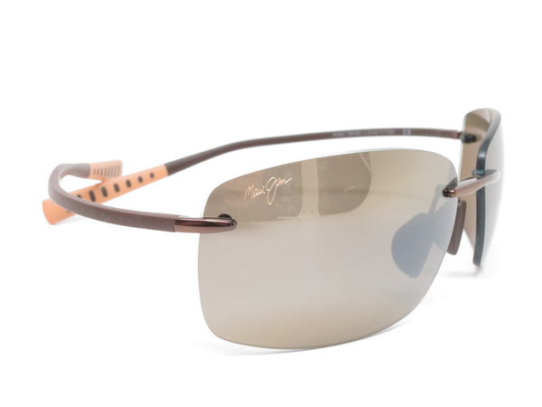 Maui Jim Kumu MJ H724-23 Metallic Gloss Copper Polarized Sunglasses - Eye Heart Shades - Maui Jim - Sunglasses - 3