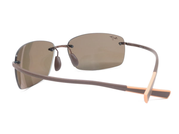 Maui Jim Kumu MJ H724-23 Metallic Gloss Copper Polarized Sunglasses - Eye Heart Shades - Maui Jim - Sunglasses - 7