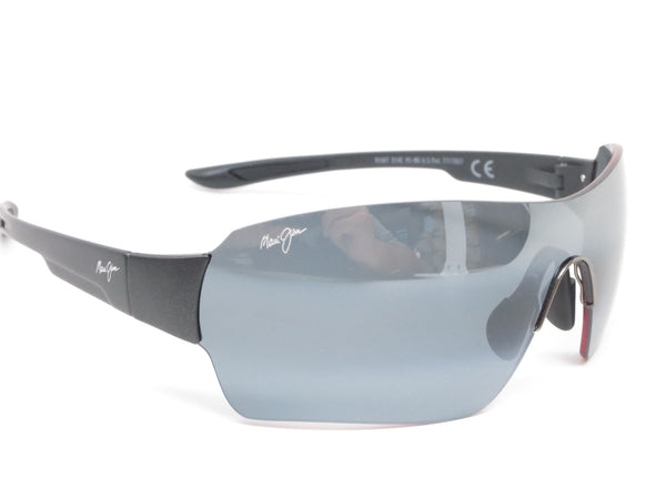 Maui Jim Night Dive MJ 521-2M Matte Black Polarized Sunglasses - Eye Heart Shades - Maui Jim - Sunglasses - 3